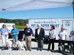 Will County receives Pet Disaster Relief Trailer from AKC organization