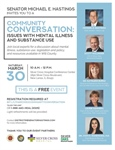 Community Conversation: Issues with Mental Illness and Substance Use