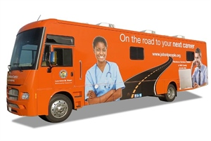 Mobile Workforce Center to make seven weekly stops in August