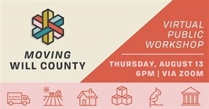 Moving Will County project to host virtual workshop on Aug. 13