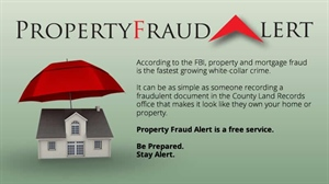 Will County Recorder Reminds Citizens of Property Fraud Alert Service