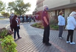 First day of early voting