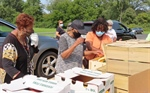 Grant funds help provide food during pandemic