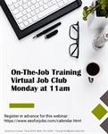 Join the Workforce Center of Will County's Virtual Job Club