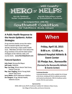 2015 Hero Helps Community Summit set for April 10, 2015