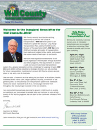 Will County Executive Larry Walsh Adds Additional Romeoville-area   Transportation Open House -- Mon. June 8