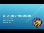 Will County Executive Larry Walsh presents annual State of the County address