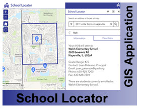 Will County School Locator Application