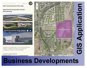 Business Development GIS Application Viewer