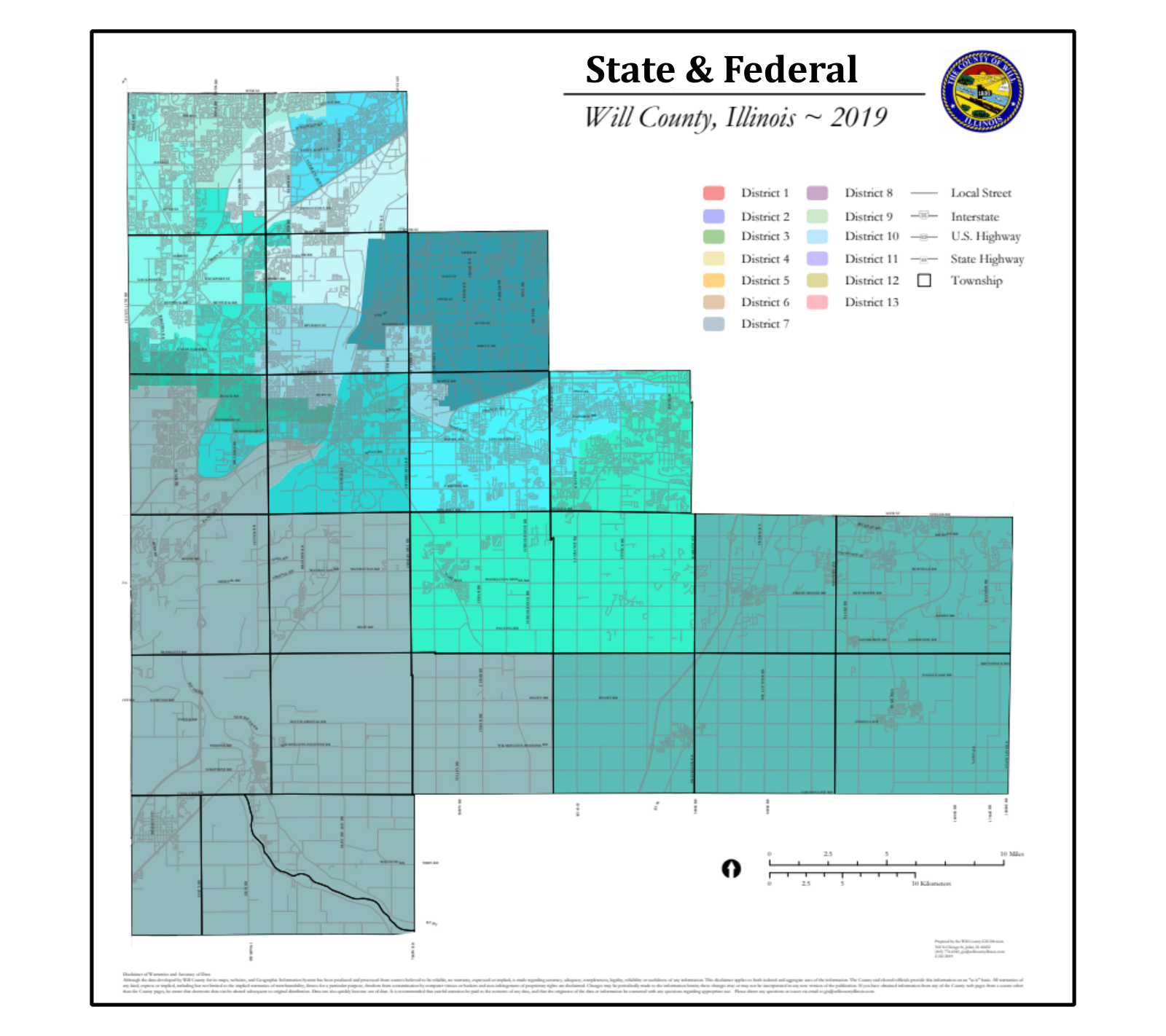Stat & Federal Districts link