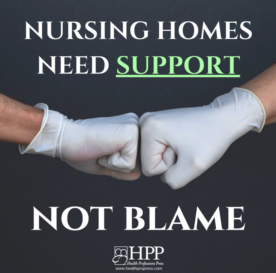 Nursing Homes are not to blame photo